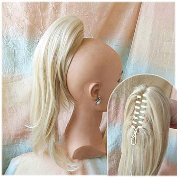 Хвост прямой каскад на крабе блонд 6322-613
