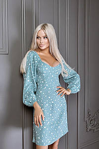 Модное молодежное платье 42,44,46 раззмер