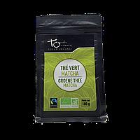 Чай зелений Матчу неферментований розсипний органічний Touch Organic,100 г