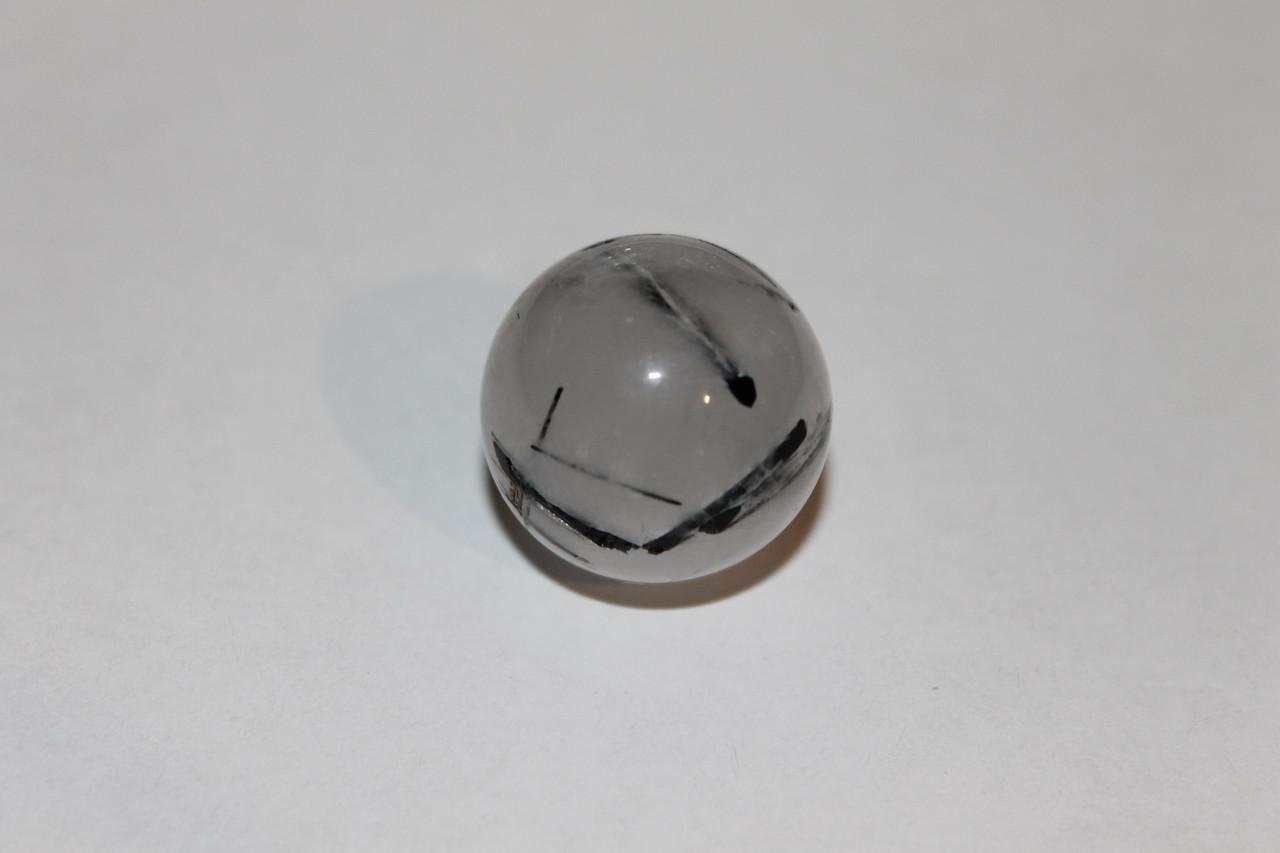 Турмалин кварц натуральный кабошон 23 мм.