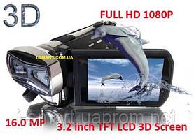 ЦИФРОВАЯ ВИДЕОКАМЕРА 3-D FULL HD 1080P 16MP MAX, 3.2 inch 3D TFT , SDHC Card up to 32 GB,10Xdigital Zoom