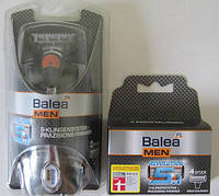 Набор Balea MEN Revolution 5.1 ErsatzKlingen + 4 картриджа  Balea MEN ErsatzKlingen