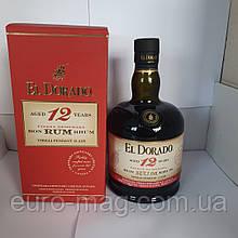 Ром El Dorado 12 Y.A 0.7 л  Ром Ельдорадо