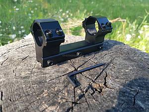 """Кріплення-моноблок Beeman FTMA086. d - 25.4 мм Medium. """"Ластівчин хвіст"""""""