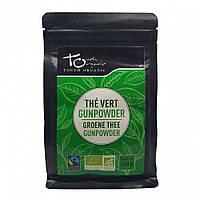 Чай зелений Ганпаудер неферментований розсипний органічний Touch Organic,100 г