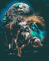 Картина по номерам, Клан полнолуния (40х50) (RB-0066)