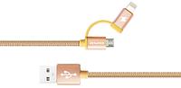 Шнур для смартфона CL-930CAWEI 2 in1 Lightning Micro SKL11-189856