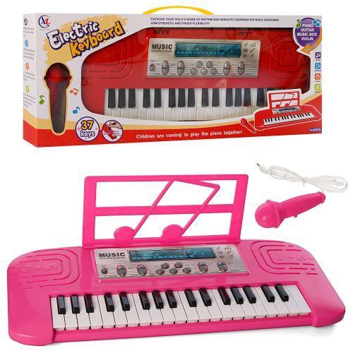 Синтезатор для дітей 6632-32A-32B 3 кольори