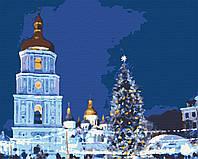 Картина по номерам, Новогодние праздники (40х50) (RB-0278), фото 1