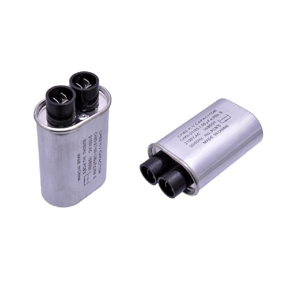 Конденсатор для СВЧ-печі Samsung, LG, Electrolux, AEG H. V. 1.20 uF CH85-21120 2100V (3 + 3 клеми)