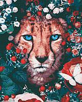 Картина по номерам, Дикий котик (40х50) (RB-0304), фото 1