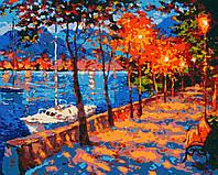 Картина по номерам, Вечер на набережной (40х50) (RB-0455), фото 1