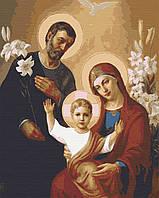 Картина по номерам, Иисус, Мария, Иосиф (40x50) (RBI-004)