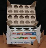 Гофролотки и гофроподдоны для молочных изделий