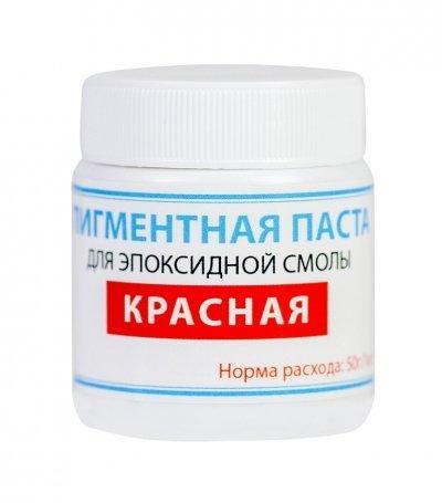 Пигментная паста краситель ТМ Просто и Легко, 50 г, красная SKL12-156215
