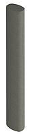 Конструкційний стовп EasyDeck Fence system graphit 60 x 90 х 3000 mm овальний для системи огорож