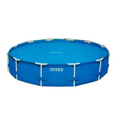 Солярный тент для бассейна Intex с эффектом антиохлаждение 366 см SKL11-249566