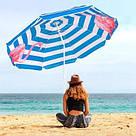 Пляжный зонт с регулируемой высотой и наклоном Springos 180 см BU0013 SKL41-252493, фото 9