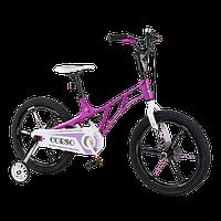 Велосипед детский для мальчика девочки 5 6 7 лет колеса 18 дюймов Corso LT-10500 магниевая рама и диски, фото 1