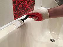 Фарба емаль акрилова для реставрації чавунної ванни Fеniks Easy 800г Біла, фото 2