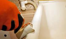 Фарба емаль акрилова для реставрації чавунної ванни Fеniks Easy 800г Біла, фото 3
