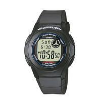 Наручний годинник Casio F-200W-1AEF All Black, фото 1