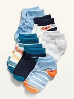 Набір демісезонних занижених шкарпеток - 6 пар Олд Неві для хлопчика