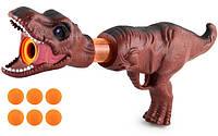 Помповий Бластер Динозавр, фото 1