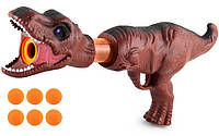 Помповий Бластер Динозавр