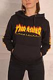 Худи Thrasher мужская чёрная, фото 3
