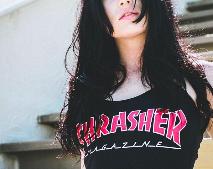 Футболка Thrasher женская | Трешер Футболка