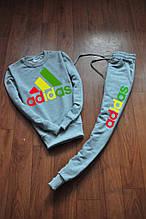 Чоловічий спортивний костюм Adidas кольорове лого