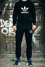 Чоловічий чорний спортивний костюм Adidas OLD