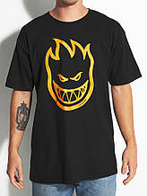 Футболка чорна SPITFIRE Fire Logo чоловіча