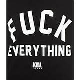 Футболка Женская Kill Brand F#CK Everything ( Черная), фото 2