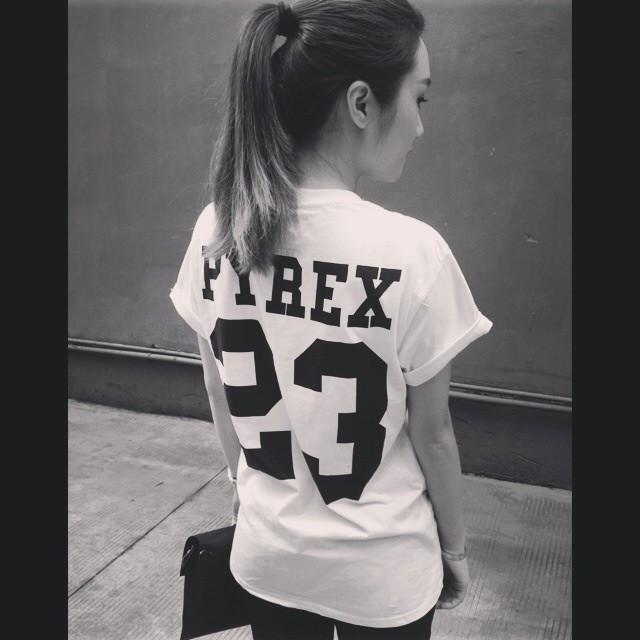 Футболка Женская PYREX 23 Пирекс Пюрекс 23 ( Белая )