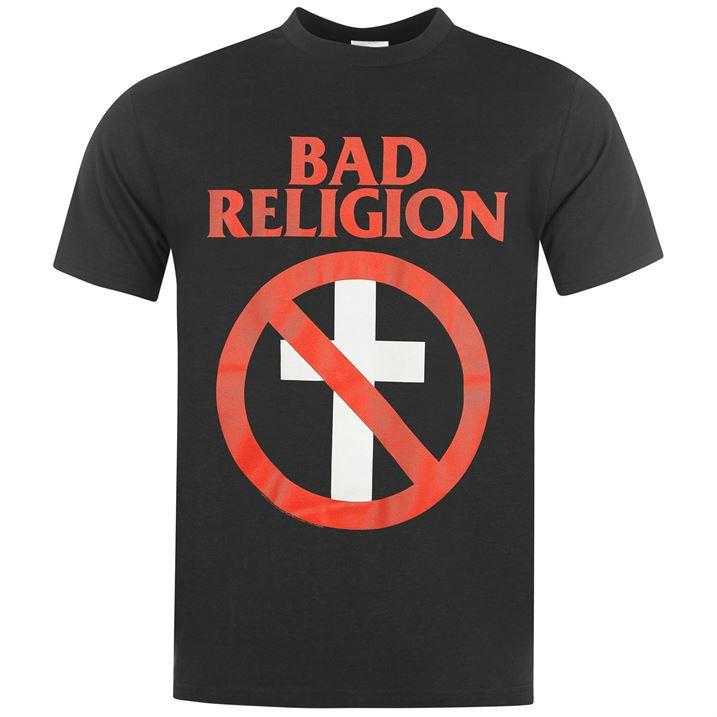 Мужская черная Футболка Official Bad Religion