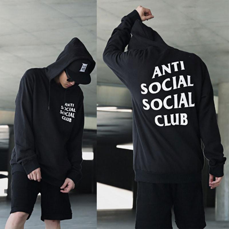 Толстовка A. S. S. C.   Antisocial social club Mind Games Толстовка чорна   БИРКА   Худі АССК