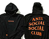 Толстовка A. S. S. C. Paranoid Anti Social social club БИРКА Худі АССК, фото 3