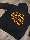 Толстовка A.S.S.C. Paranoid Anti Social social club БИРКА Худи АССК, фото 4