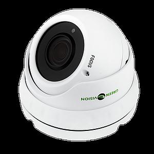 Антивандальная IP камера GreenVision GV-002-IP-E-DOS24V-30 POE