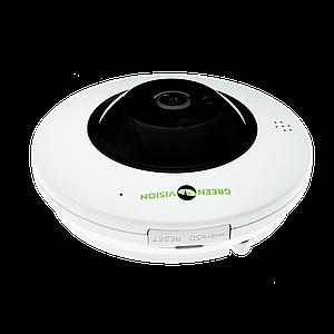 БУ Купольная IP камера GreenVision GV-076-IP-ME-DIS40-20 (360) POE (Ultra)