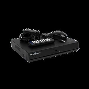 AHD відеореєстратор 4-канальний GREEN VISION GV-A-S032/04 1080N