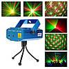 Лазерний проектор, стробоскоп, диско лазер UKC HJ08 4 в 1 c триногой (4053), фото 8