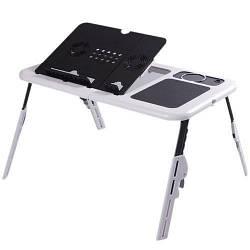 Подставка для ноутбука столик HLV с двумя USB кулерамим 001118, КОД: 1825224