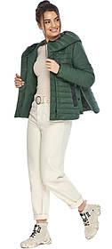 Люксовая женская нефритовая куртка модель 64150