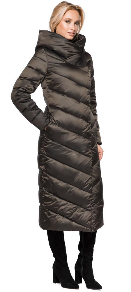 Трендовая куртка женская цвет капучино модель 31016
