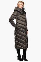 Трендовая куртка женская цвет капучино модель 31016, фото 2