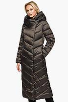 Трендовая куртка женская цвет капучино модель 31016, фото 3