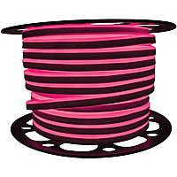 """Светодиодный LED гибкий неон PROLUM 2835\120 IP68 220V - SERIES """"GL"""" PRO, Розовый"""